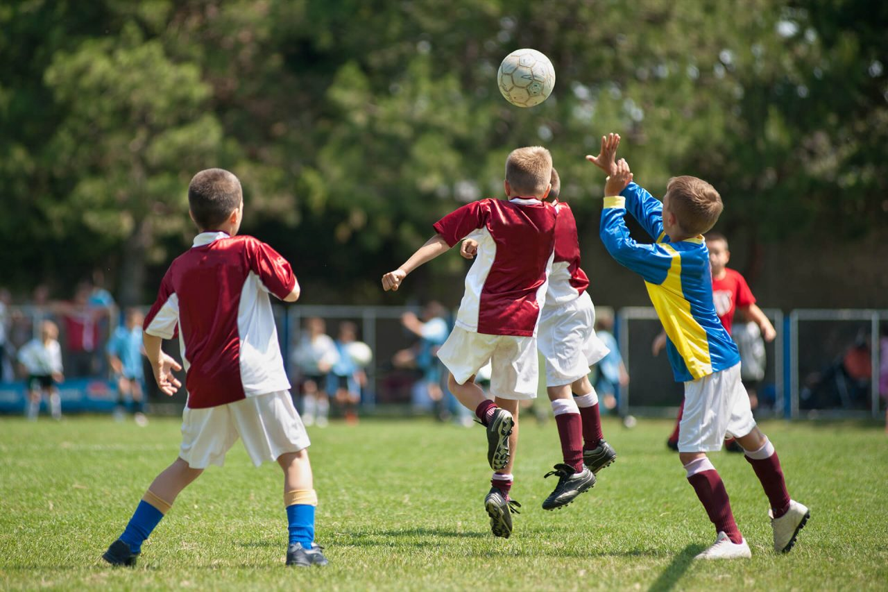 First place in Junior soccer league – Soccer