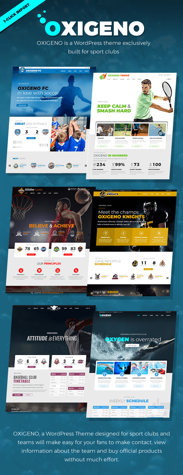 Oxigeno – Sports Club & Team - 1